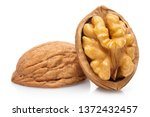 Delicious Walnut  Isolated On...