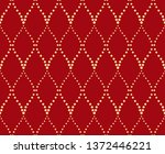 the geometric pattern with wavy ... | Shutterstock .eps vector #1372446221