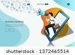 modern flat design concept of... | Shutterstock .eps vector #1372465514