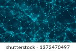 abstract blue background.... | Shutterstock . vector #1372470497
