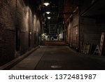 Chicago Alley At Night
