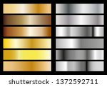 silver and gold foil texture... | Shutterstock .eps vector #1372592711