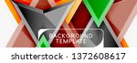 arrows and triangles geometric...   Shutterstock .eps vector #1372608617