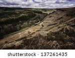 Levisham  Yorkshire  Uk. View...