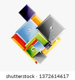 square geometric composition ...   Shutterstock .eps vector #1372614617