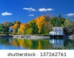 Colors Of Indian Summer  Maine
