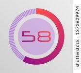 colorful pie charts. circular...