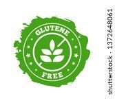 glutene free product badge...   Shutterstock .eps vector #1372648061
