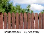Wooden Fence  Sky