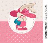 vector illustration  fashion... | Shutterstock .eps vector #137273021
