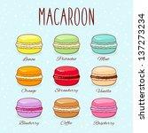 set of different taste... | Shutterstock .eps vector #137273234