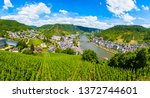 Cochem Town And Vineyards...