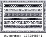 it borders on a classic style ... | Shutterstock .eps vector #1372848941