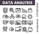 data analysis  web storage... | Shutterstock .eps vector #1372891064