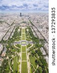 Aerial View On Paris From The...
