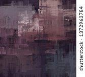 abstract texture. 2d... | Shutterstock . vector #1372963784