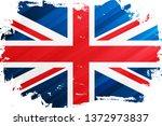 flag of the united kingdom... | Shutterstock .eps vector #1372973837