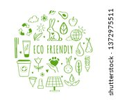eco friendly  ecology vector... | Shutterstock .eps vector #1372975511