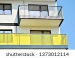 modern european residential... | Shutterstock . vector #1373012114