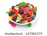 Salad Of Fresh Fruit And...