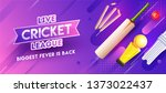 purple header or banner design... | Shutterstock .eps vector #1373022437