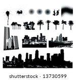 urban textures | Shutterstock .eps vector #13730599
