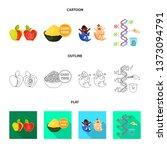 vector design of test and... | Shutterstock .eps vector #1373094791