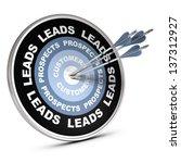 one target where it is written... | Shutterstock . vector #137312927