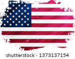 flag of the united states of... | Shutterstock .eps vector #1373137154