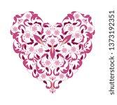 lace floral illustration for... | Shutterstock .eps vector #1373192351