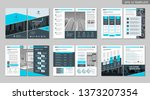 brochure creative design.... | Shutterstock .eps vector #1373207354