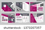 brochure creative design.... | Shutterstock .eps vector #1373207357