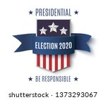 american presidential election...   Shutterstock .eps vector #1373293067