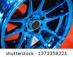 close up car mag wheel... | Shutterstock . vector #1373358221