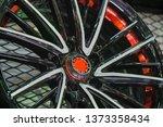 close up car mag wheel... | Shutterstock . vector #1373358434