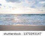 sea sunset  ocean sunrise ... | Shutterstock . vector #1373393147