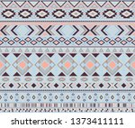 peruvian american indian... | Shutterstock .eps vector #1373411111