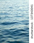 Rippling Blue Water Surface