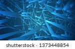 abstract vector background of... | Shutterstock .eps vector #1373448854