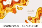 autumn banner with multi... | Shutterstock .eps vector #1373519831