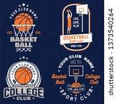Set Of Basketball Club Badge....