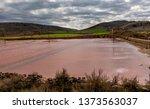 ancient salt exploitation of...   Shutterstock . vector #1373563037