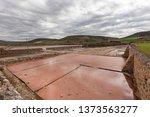 ancient salt exploitation of...   Shutterstock . vector #1373563277