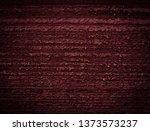 texture of dark burgundy old... | Shutterstock . vector #1373573237
