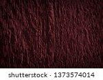 texture of dark burgundy old... | Shutterstock . vector #1373574014