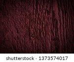 texture of dark burgundy old... | Shutterstock . vector #1373574017