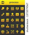 process icon set. 26 filled... | Shutterstock .eps vector #1373579567