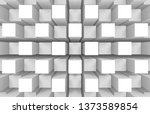 3d rendering. modern abstract... | Shutterstock . vector #1373589854
