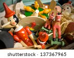 old toys | Shutterstock . vector #137367965