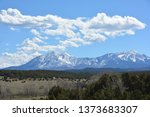 spanish peak mountains | Shutterstock . vector #1373683307
